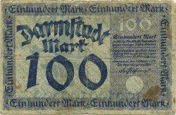 100 Mark ALLEMAGNE  1922  B+
