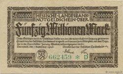 50 Millions Mark ALLEMAGNE Darmstadt 1923  TTB+