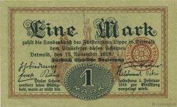 1 Mark ALLEMAGNE  1918  SPL