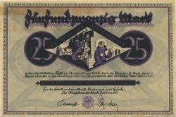 25 Mark ALLEMAGNE Dortmund 1922  SUP