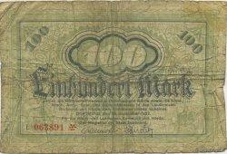 100 Mark ALLEMAGNE Dortmund 1922  B