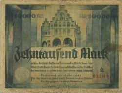 10000 Mark ALLEMAGNE  1923  pr.TB