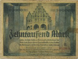 10000 Mark ALLEMAGNE Dortmund 1923  pr.TB