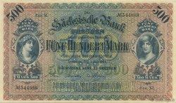 500 Mark ALLEMAGNE  1922 PS.0954b SPL