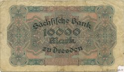 10000 Mark ALLEMAGNE Dresden 1923 PS.0958 TB