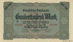 100000 Mark ALLEMAGNE  1923 PS.0960 pr.NEUF