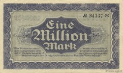 1 Million Mark ALLEMAGNE Dresden 1923 PS.0963 SUP