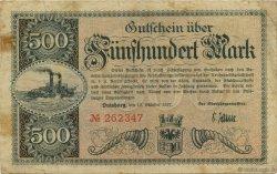 500 Mark ALLEMAGNE  1922  TB