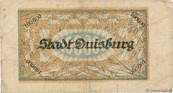 100000 Mark ALLEMAGNE Duisburg 1923  TB