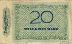 20 Millions Mark ALLEMAGNE  1923  TB