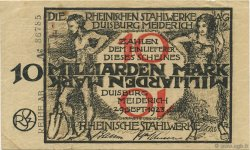 10 Milliards Mark ALLEMAGNE  1923  TTB