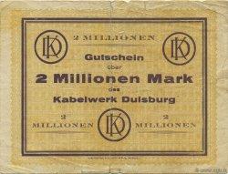 2 Millions Mark ALLEMAGNE  1923  B+