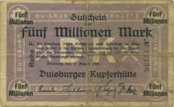 5 Millions Mark ALLEMAGNE  1923  TB+