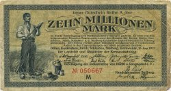 10 Millions Mark ALLEMAGNE Düren 1923  TB
