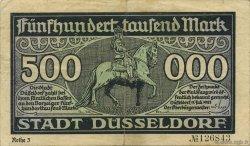 500000 Mark ALLEMAGNE Düsseldorf 1923  TTB