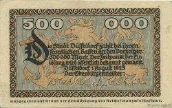500000 Mark ALLEMAGNE Düsseldorf 1923  SUP