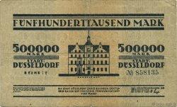 500000 Mark ALLEMAGNE Düsseldorf 1923  TB
