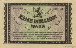1 Million Mark ALLEMAGNE Düsseldorf 1923  TTB