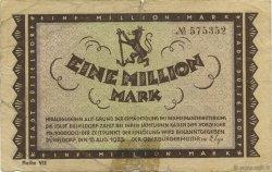 1 Million Mark ALLEMAGNE Düsseldorf 1923  B+