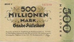 500 Millions Mark ALLEMAGNE Düsseldorf 1923  SPL