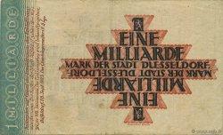 1 Milliard Mark ALLEMAGNE Düsseldorf 1923  TB