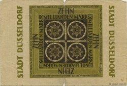 10 Milliards Mark ALLEMAGNE Düsseldorf 1923  B