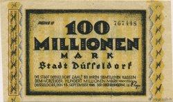 100 Millions Mark ALLEMAGNE Düsseldorf 1923  SPL