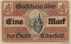 1 Mark ALLEMAGNE Elberfeld 1918  SPL