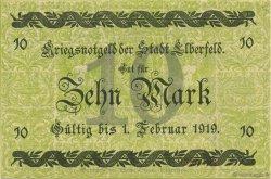 10 Mark ALLEMAGNE Elberfeld 1918  pr.NEUF