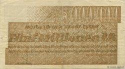 5 Millions Mark ALLEMAGNE Essen 1923  TTB