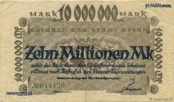 10 Millions Mark ALLEMAGNE Essen 1923  pr.TTB