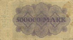 500000 Mark ALLEMAGNE Essen 1923  pr.TTB