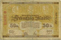 50 Mark ALLEMAGNE Gaggenau-Gernsbah-Forbach 1922  TB