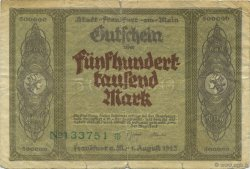 500000 Mark ALLEMAGNE Frankfurt Am Main 1923  TB