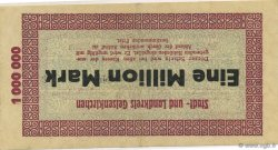 1 Million Mark ALLEMAGNE Gelsenkirchen 1923  TTB