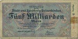 5 Milliards Mark ALLEMAGNE  1923  B
