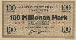 100 Millions Mark ALLEMAGNE  1923  SUP