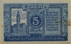 5 Mark ALLEMAGNE Gera 1919  TB+