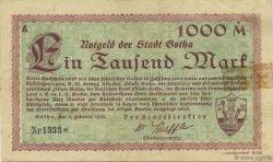 1000 Mark ALLEMAGNE Gotha 1923  TTB