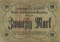 20 Mark ALLEMAGNE  1918  TB