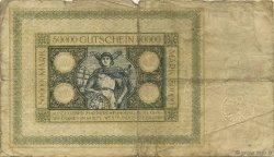 50000 Mark ALLEMAGNE Hamborn Am Rhein 1923  B