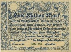 1 Million Mark ALLEMAGNE  1923  TTB+