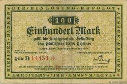 100 Mark ALLEMAGNE Heidelberg 1922  TTB