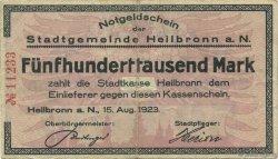 500000 Mark ALLEMAGNE Heilbronn 1923  TTB