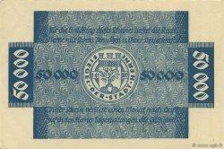 50000 Mark ALLEMAGNE Herne 1923  pr.NEUF