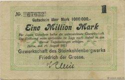 1 Million Mark ALLEMAGNE Herne 1923  TTB