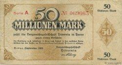 50 Millions Mark ALLEMAGNE Herne 1923  TTB
