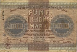 5 Millions Mark ALLEMAGNE  1923  TB