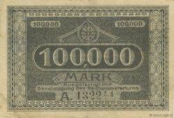 100000 Mark ALLEMAGNE Kempen 1923  TTB