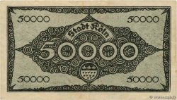 50000 Mark ALLEMAGNE  1923  pr.TTB